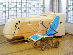 車いす浴槽のイメージ